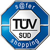 TÜV SÜD, safer-shopping Zertifikat